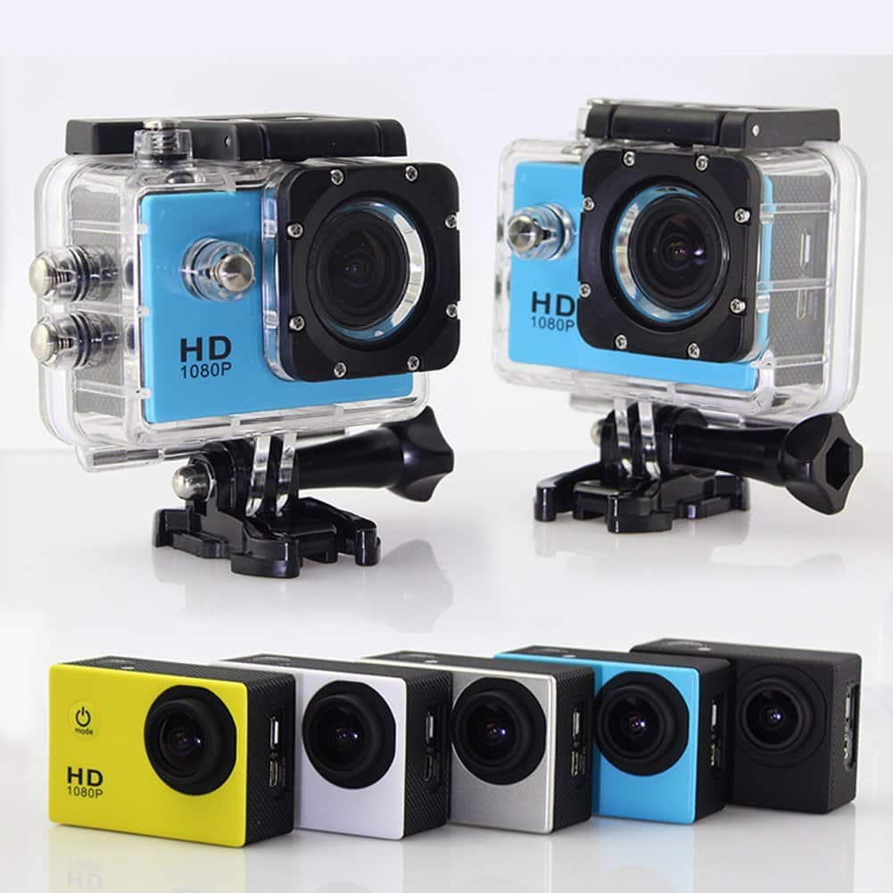 action camera full hd 1080p verde la oferte. Black Bedroom Furniture Sets. Home Design Ideas